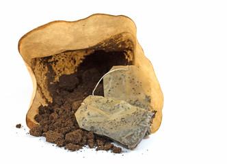 Органическое удобрение. Спитой чай, кофе подкормка для растений